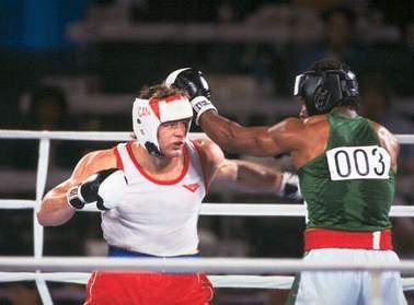 любительский бокс на фото